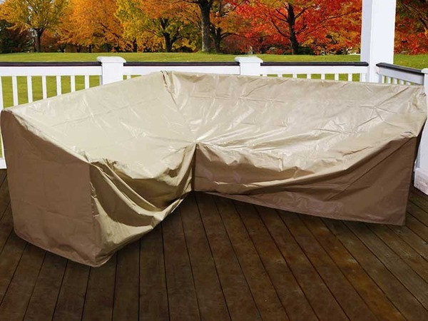 Forever Patio Hampton 6 Piece Right Facing Sectional Cover