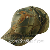 Green Mossgreen Wood Camouflage Hunting Cap 6Panel Construction