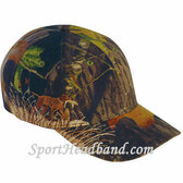 Dog Embroidery Mossgreen Camouflage Cap