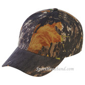 Dark Green Mossgreen Camouflage Hunting Cap 6Panel Construction