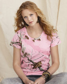 Realtree® Camouflage T-Shirt for Women