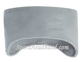 Light Gray Polar Fleece Headband(1 Piece)