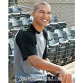 Augusta Sportswear Short-Sleeve Raglan Baseball Jersey