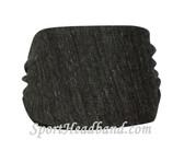 Eco Black Polyester Wider Headband Head Wrap(1 Piece)