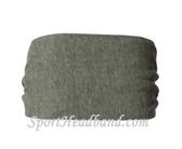 Eco Grey Polyester Wider Headband Head Wrap(1 Piece)