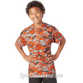 Youth Short Sleeve Sublimated Digital Performance T-Shirt