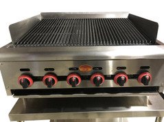 Gas Char Broiler - Spinning Grillers