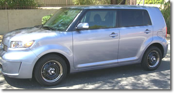 2008-2009 Scion XB with our #c8057 Spyders and our 16