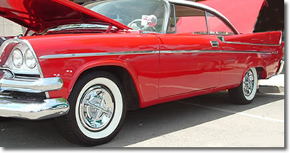 Crossbar Hubcaps on a Vintage Beauty