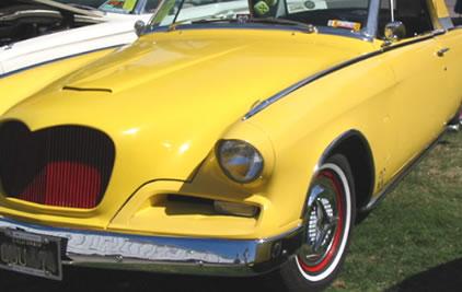 Fiesta Wheel Covers on a Custom Studebaker