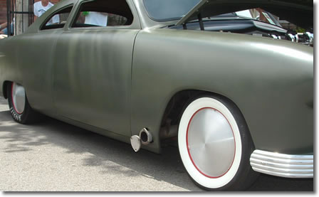 Screw-on Racing Disc Custom Lead Sled Racing Moon Wheelcovers