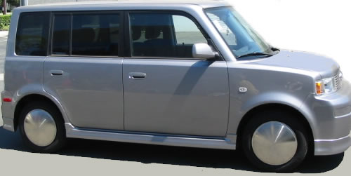 Pop-on Racing Disc Hubcaps XB Scion Moon Wheel Covers