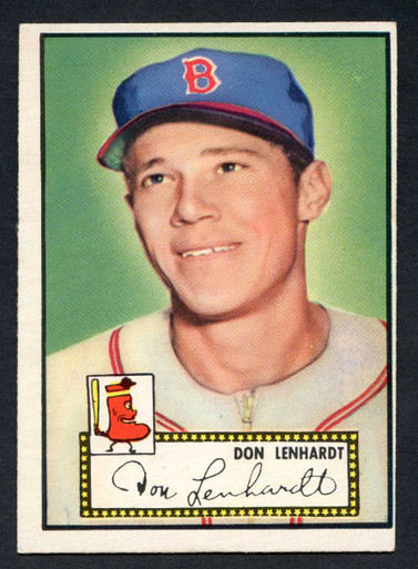1952 Topps Baseball 004 Don Lenhardt Boston Braves VG