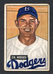 1951 Bowman Baseball # 007  Gil Hodges Brooklyn Dodgers F