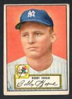 1952 Topps Baseball # 009 Bobby Hogue New York Yankees VG-1
