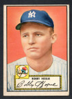 1952 Topps Baseball # 009 Bobby Hogue New York Yankees VG-2