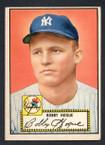 1952 Topps Baseball # 009 Bobby Hogue New York Yankees VG-2