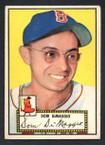 1952 Topps Baseball # 022 Dom DiMaggio Boston Red Sox EX