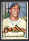 1952 Topps Baseball # 024 Luke Easter Cleveland Indians VG