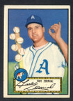 1952 Topps Baseball # 031 Gus Zernial Philadelphia Athletics EX
