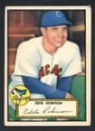 1952 Topps Baseball # 032 Eddie Robinson Chicago White Sox VG