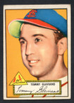 1952 Topps Baseball # 056 Tommy Glaviano St. Louis Cardinals VG