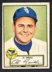 1952 Topps Baseball # 070 Al Zarilla Chicago White Sox VG