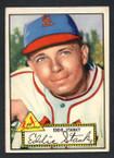 1952 Topps Baseball # 076 Eddie Stanky St. Louis Cardinals EX