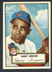 1952 Topps Baseball # 193 Harry Simpson Cleveland Indians EX-1