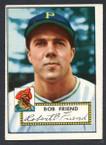 1952 Topps Baseball # 233 Bob Friend Pittsburgh Pirates VG-1