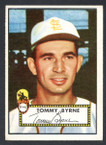 1952 Topps Baseball # 241 Tommy Byrne St. Louis Browns EX