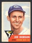 1953 Topps Baseball # 005  Joe Dobson Chicago White Sox EX/MT-1