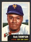 1953 Topps Baseball # 020  Hank Thompson New York Giants EX/MT
