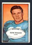1953 Bowman Football # 006  Doak Walker Detroit Lions VG-1