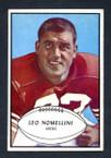 1953 Bowman Football # 088  Leo Nomellini San Francisco 49ers EX