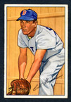 1952 Bowman Baseball # 081  Billy Goodman Boston Red Sox EX-1