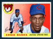 1955 Topps Baseball # 028  Ernie Banks Chicago Cubs EX