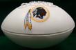 Washington Redskins Logo Football