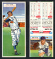 1955 Topps Double Header Baseball # 059 Billy Glynn Indians & # 60 Bob Miller Tigers EX/MT