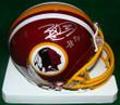 Brandon Banks Autographed Mini Helmet