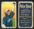 1909 T206     Dougherty, Patsy   Arm in air   Chicago White Sox (Polar Bear) Good 141-1