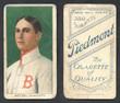 1909 T206    Mattern, Al  Portrait  Boston Braves  Fair 309