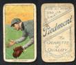 1909 T206    Hart, Jimmy  Fielding  Montgomery   (SL)  Fair 204