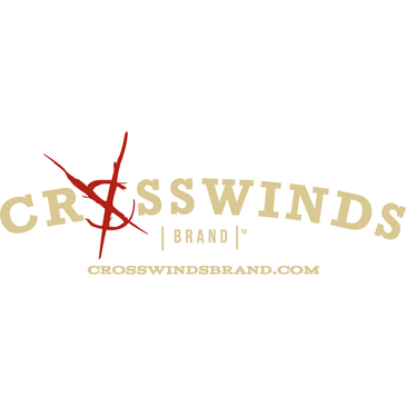 Crosswinds Brand Logo Vinyl Decal