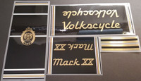 Volkscycle 80s Mark 20 Bicycle Decal Set