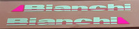 Bianchi Seat Tube Decals - 1 Pair - Select Colors