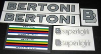 Bertoni Superlight Decal Set of 7 (sku 435)