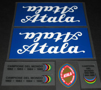 Atala Bicycle Decal Set