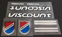 Viscount Sebring Decal Set (sku 927)