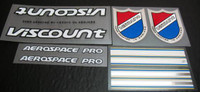 Viscount Aerospace Pro decal set (sku 821)